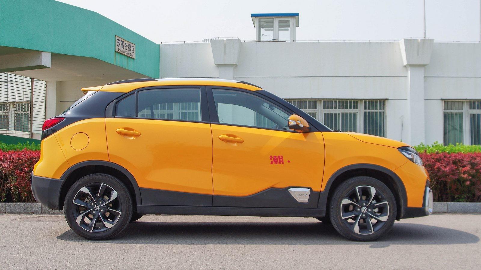 Dongfeng AX4 оранжевый сбоку