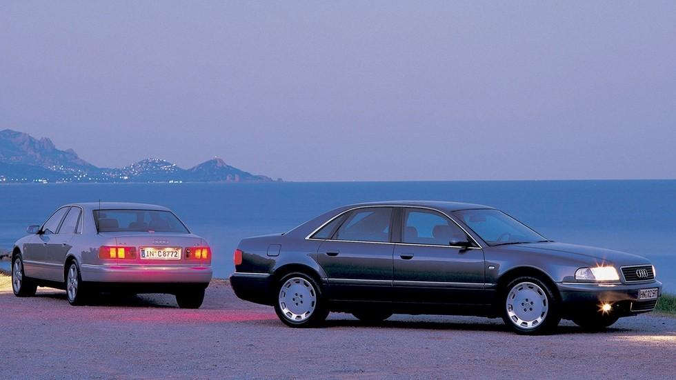 На фото: Audi A8 (D2) '1994–2002