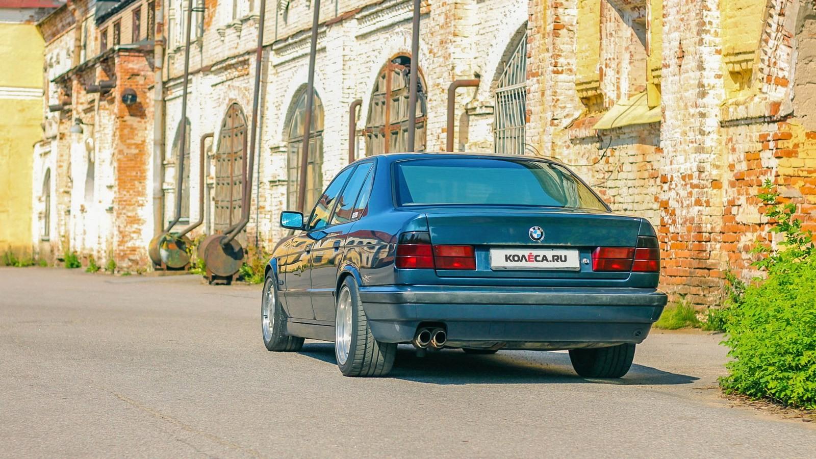 BMW-5-серии-E34-сзади-(2)