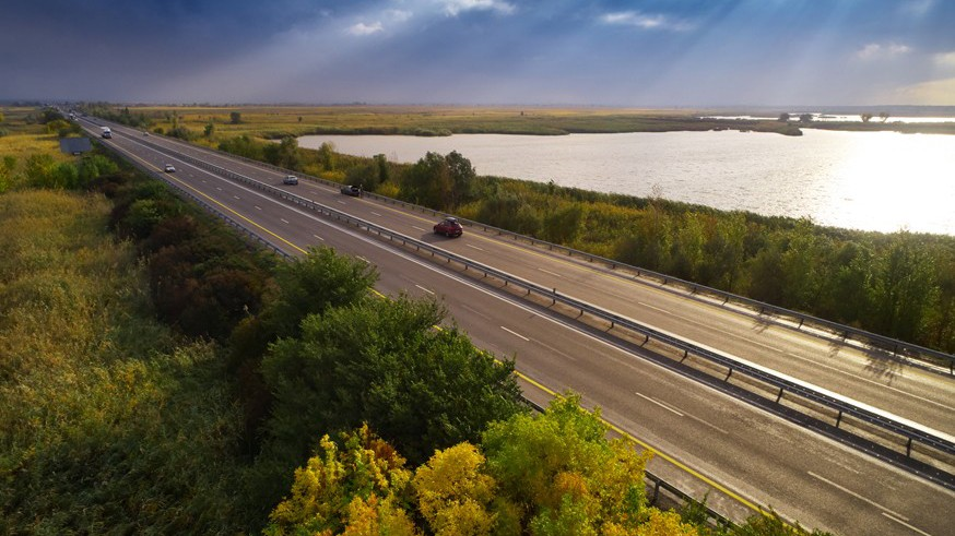 Путь к морю: на платной трассе М-4 «Дон» вводят временную схему движения