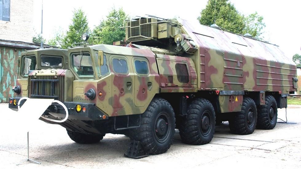 Машина боевого управления 15В129 командного пункта ракетной дивизии