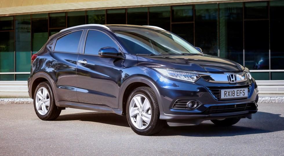 Обновленный Honda HR-V, версия для Европы