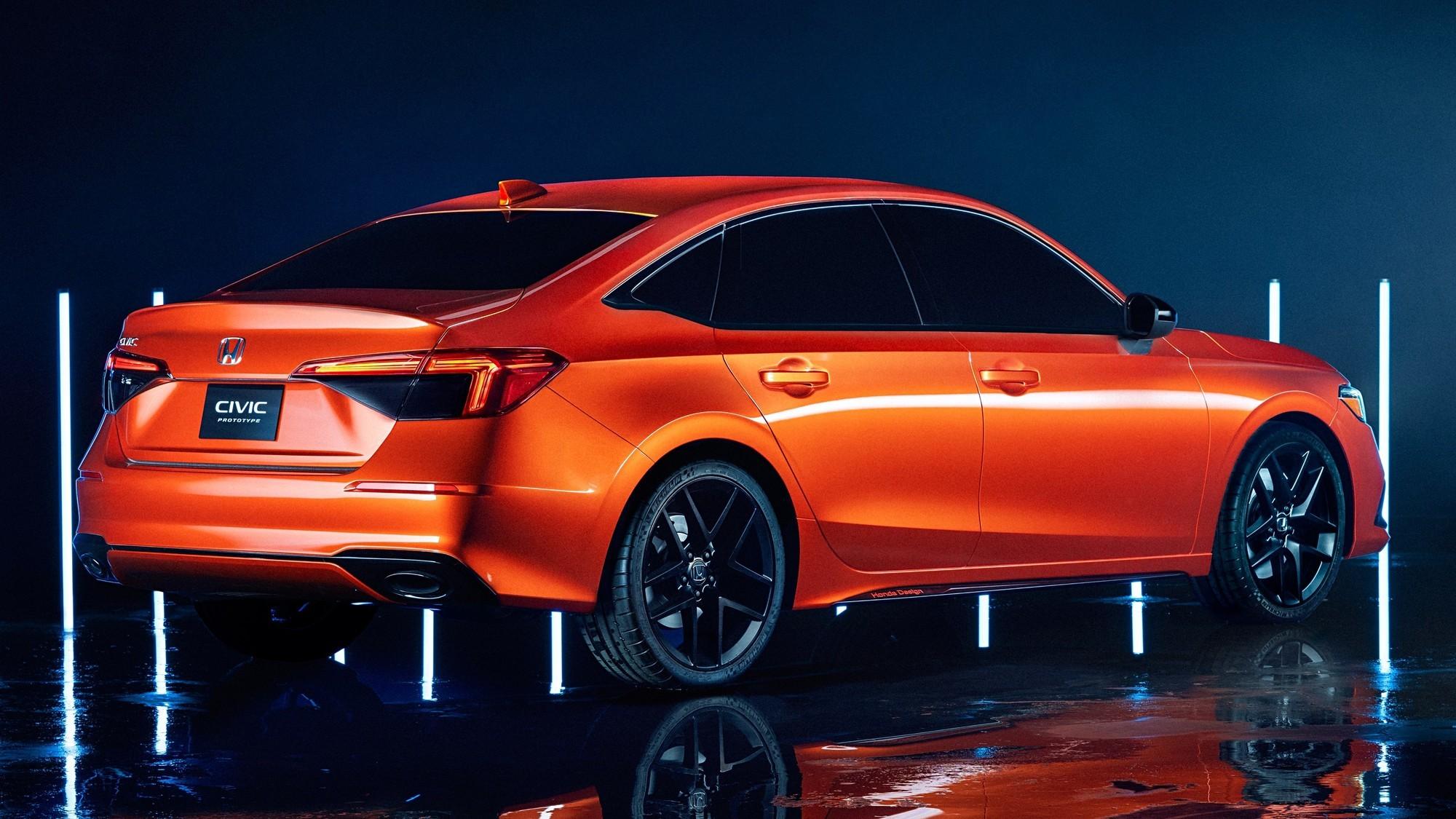 Новый Honda Civic: больше никакого авангарда в дизайне, но с ориентацией на молодёжь