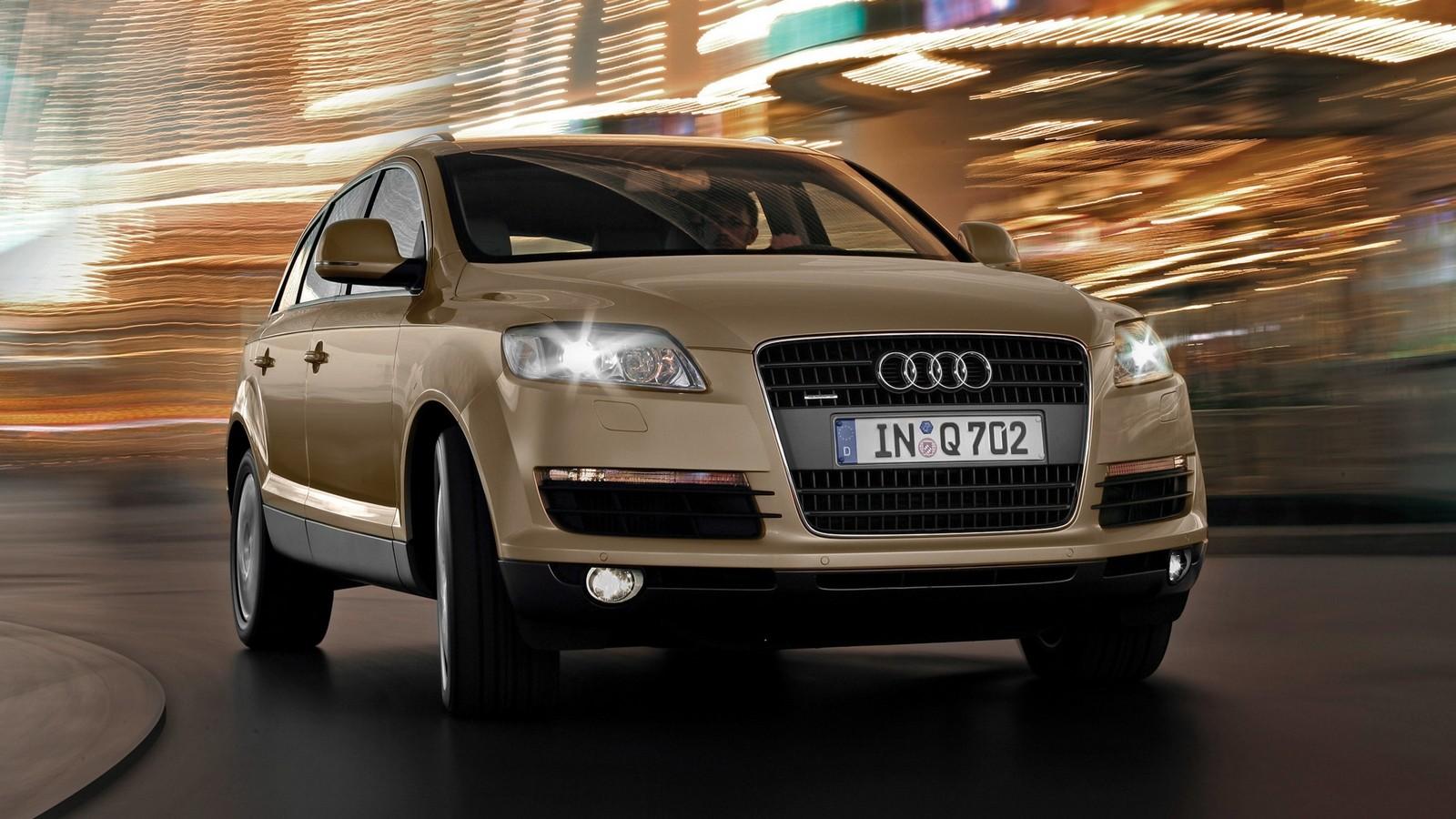 На фото: Audi Q7 3.0 TDI quattro (4L) '2005–09
