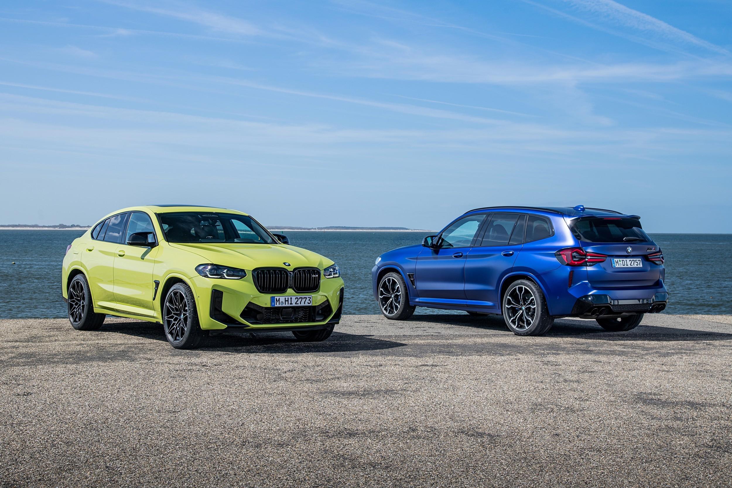 Всё и сразу: обновлённые BMW X3 и BMW X4 дебютировали вместе с М-версиями