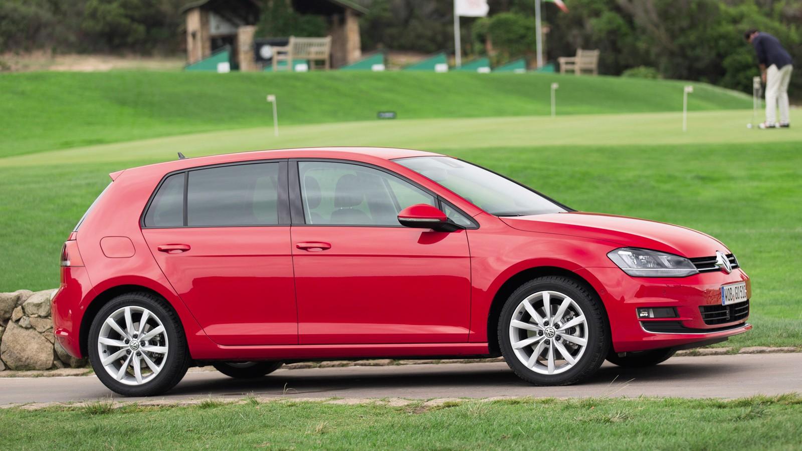 На фото: VW Golf