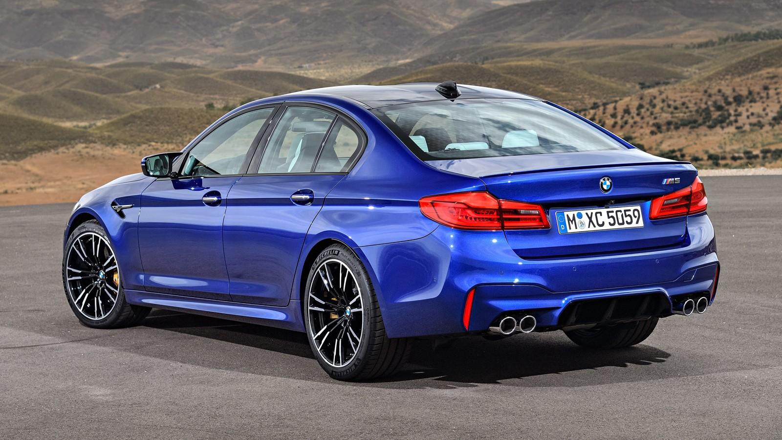 BMW M5rear