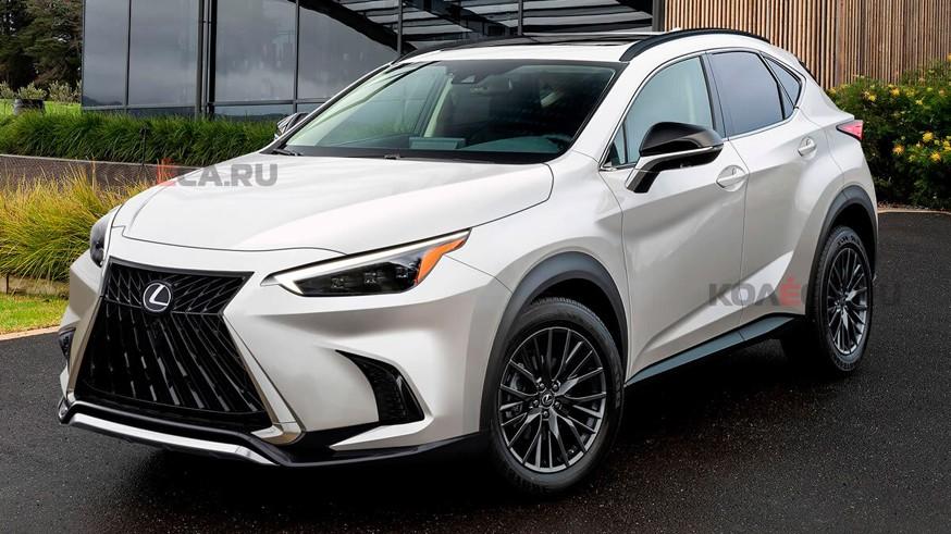 Lexus готовит кроссовер NX второго поколения: первое изображение