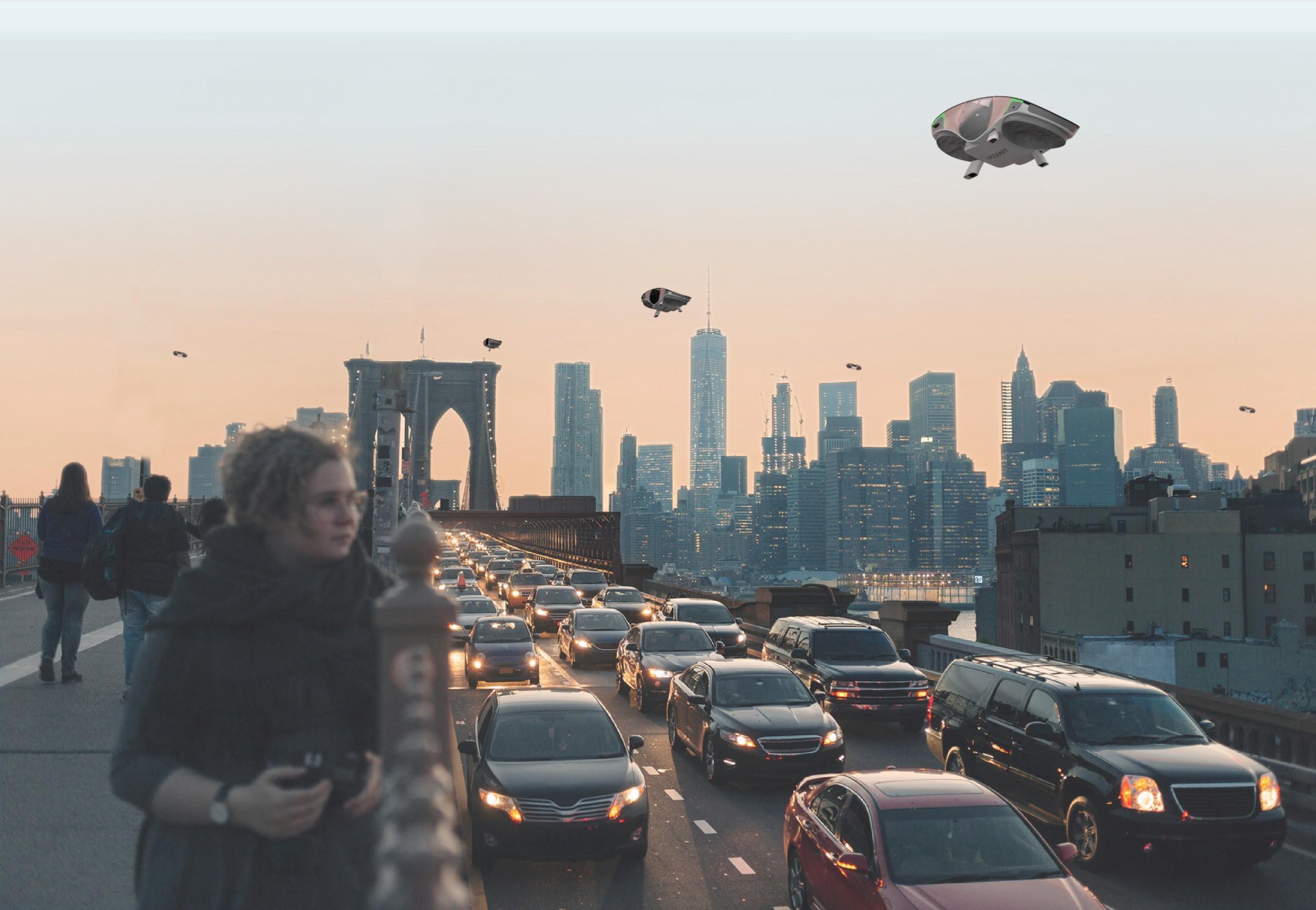 В ожидании воздушного Uber: водородный аэрокар CityHawk сменил дизайн