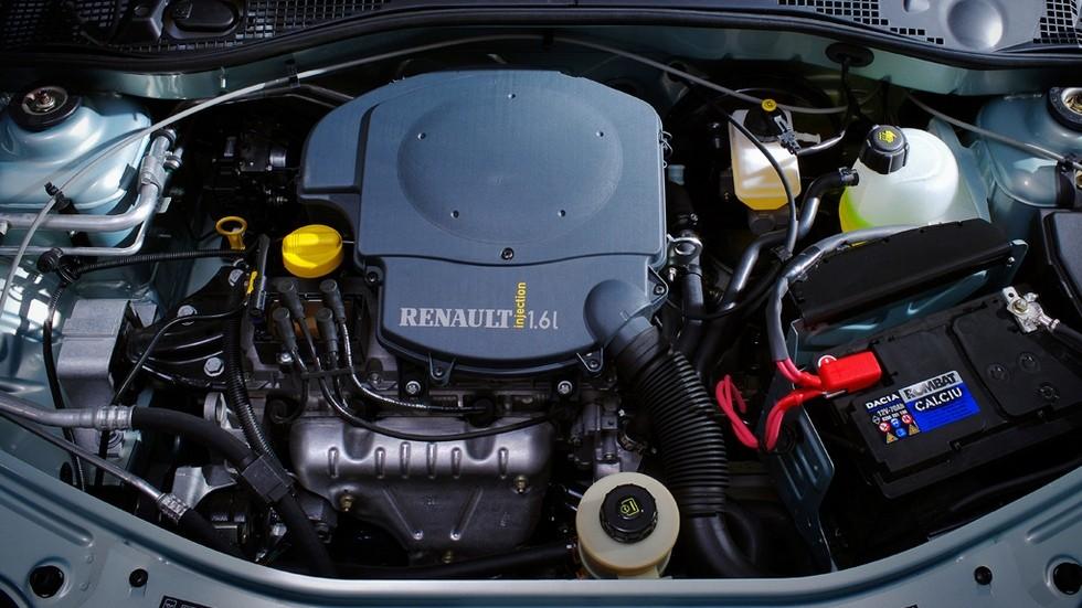 Под капотом Renault Logan '2004–09