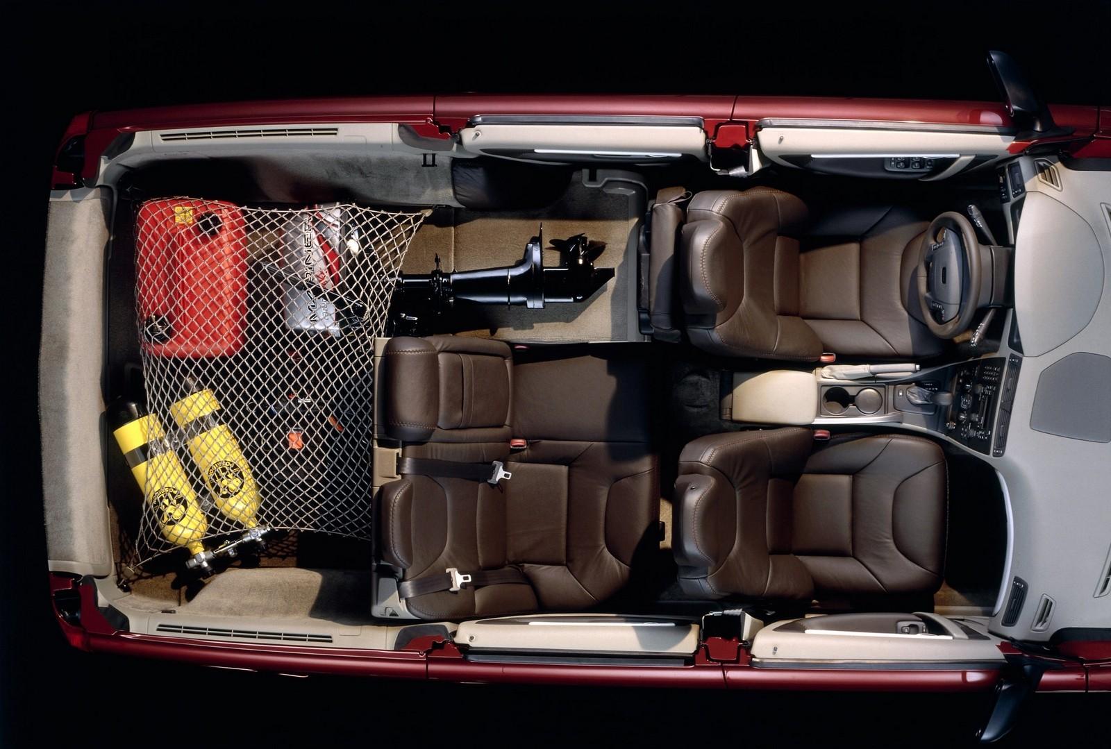 Интерьер Volvo V70 XC '2000–02