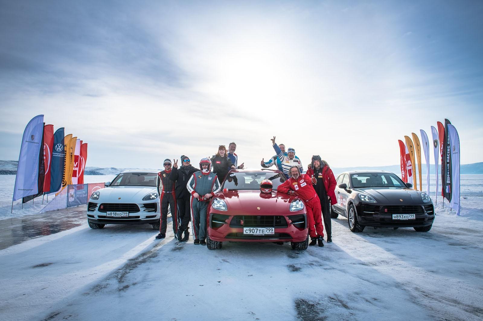 Шины Continental помогли установить 18 рекордов в ходе соревнований «Дни Скорости на льду Байкала»