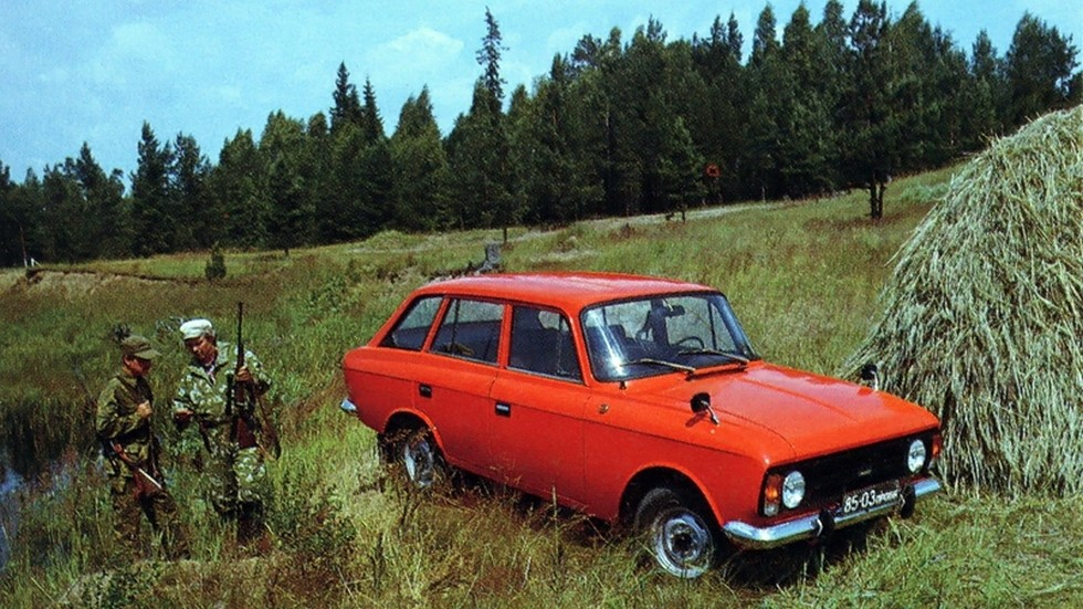 Иж-21251 часто встречался в сельской местности
