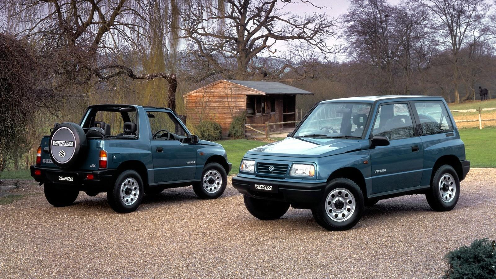 На фото: Suzuki Vitara '1988–98