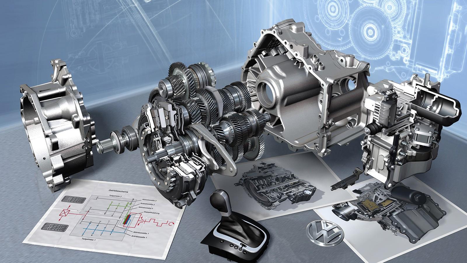 Das 7-Gang Doppelkupplungsgetriebe DSG von Volkswagen