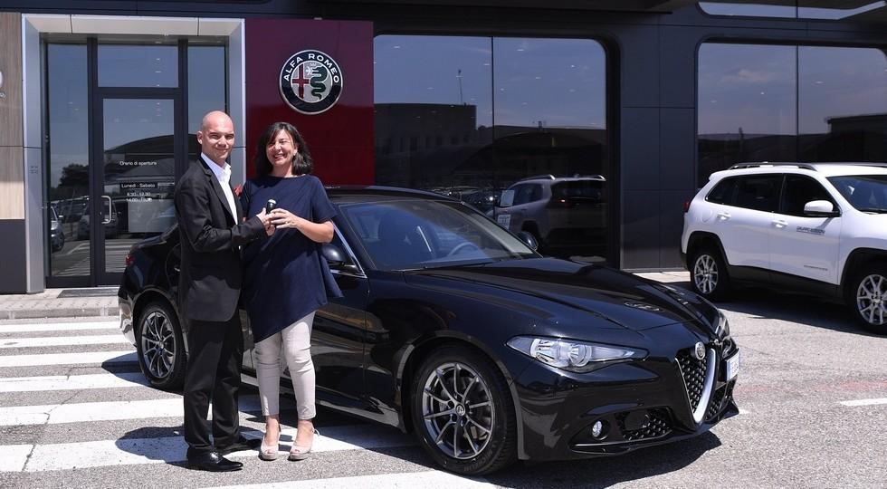 Consegna Nuova Alfa Romeo Giulia