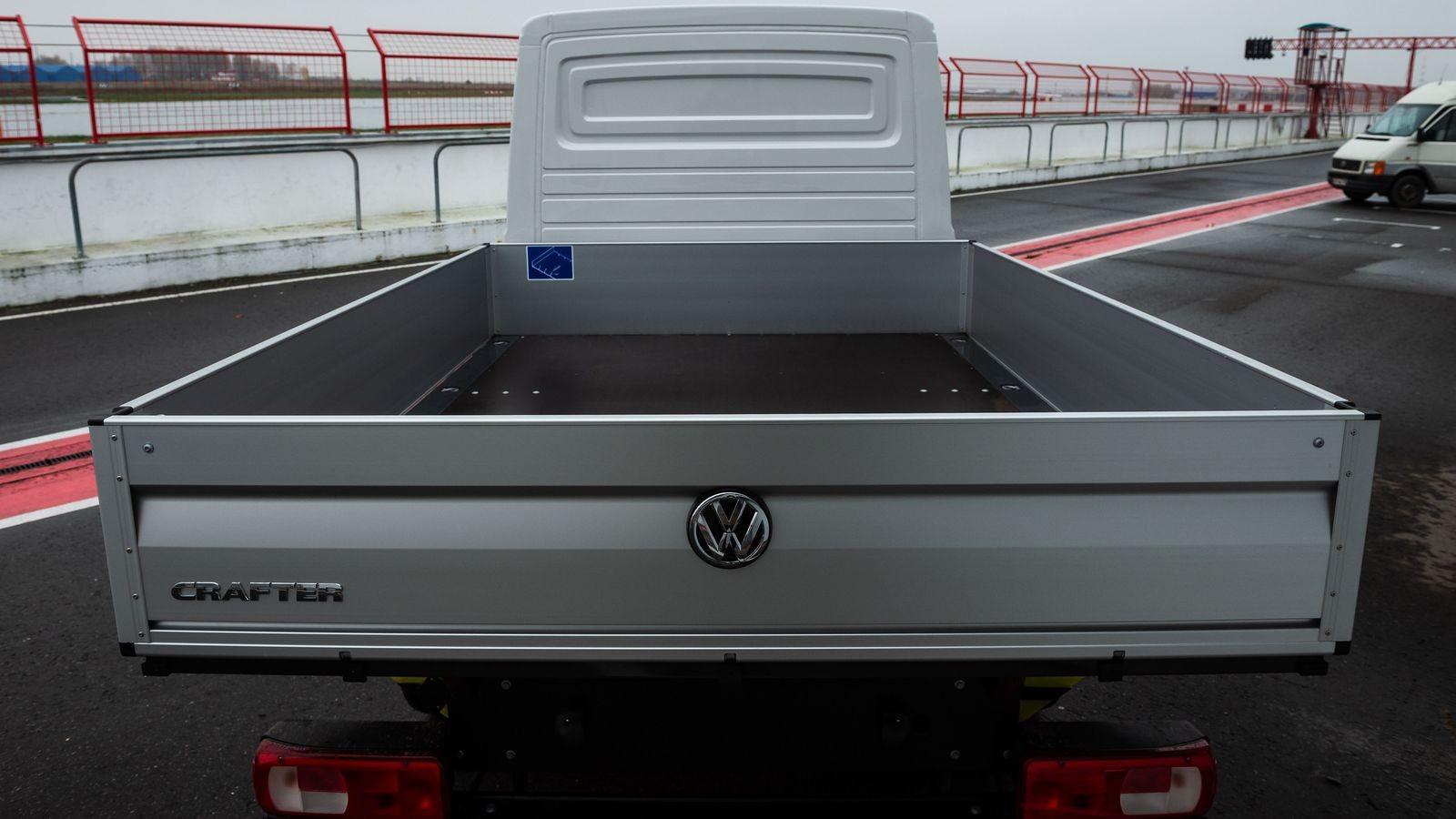 Грузовик, который смог: лосиный тест Volkswagen Crafter