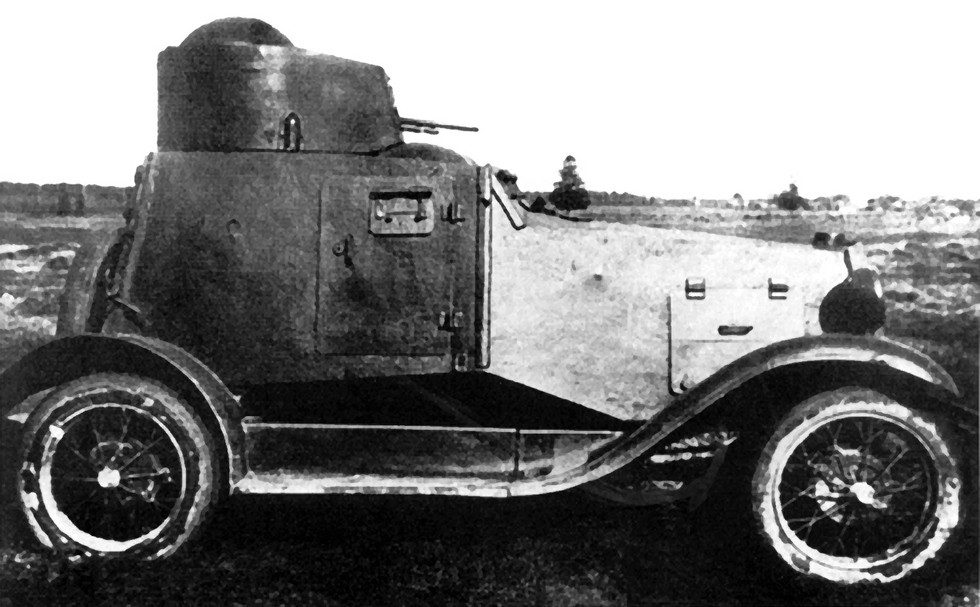 бронеавтомобиль ФАИ на легковом шасси Ford-А