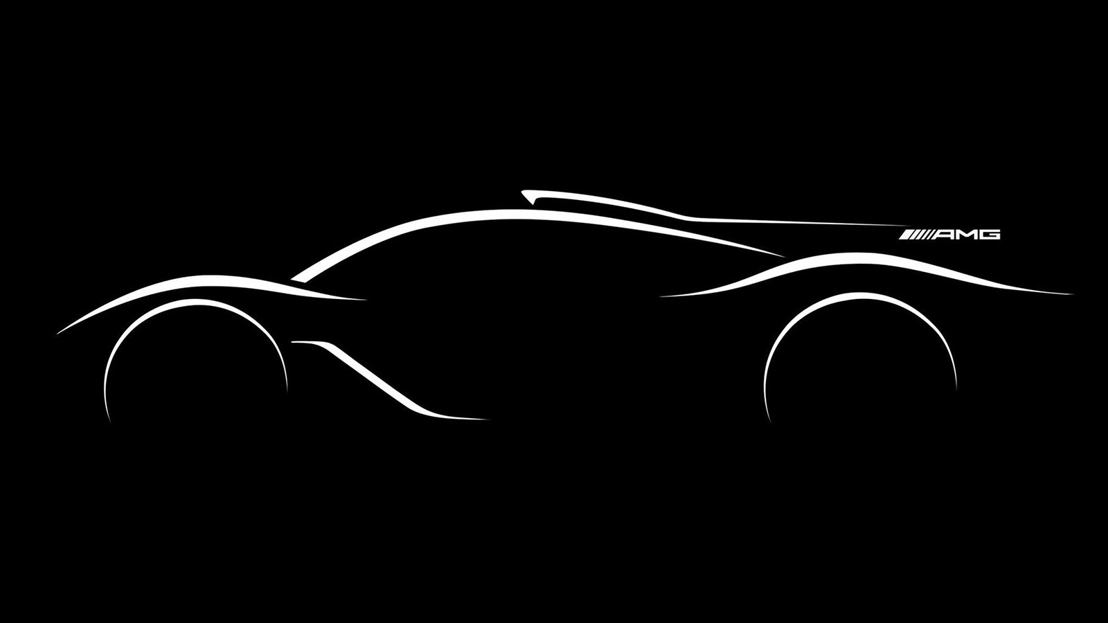 Тизер нового гиперкара Mercedes-AMG