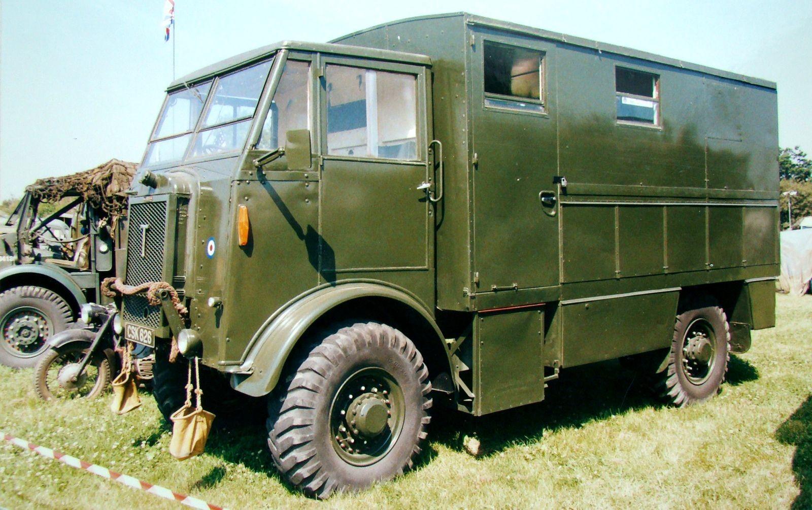Отказ от пустых традиций: британские полноприводные грузовики Второй мировой