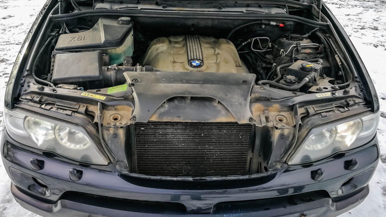 BMW X5 E53 двигатель