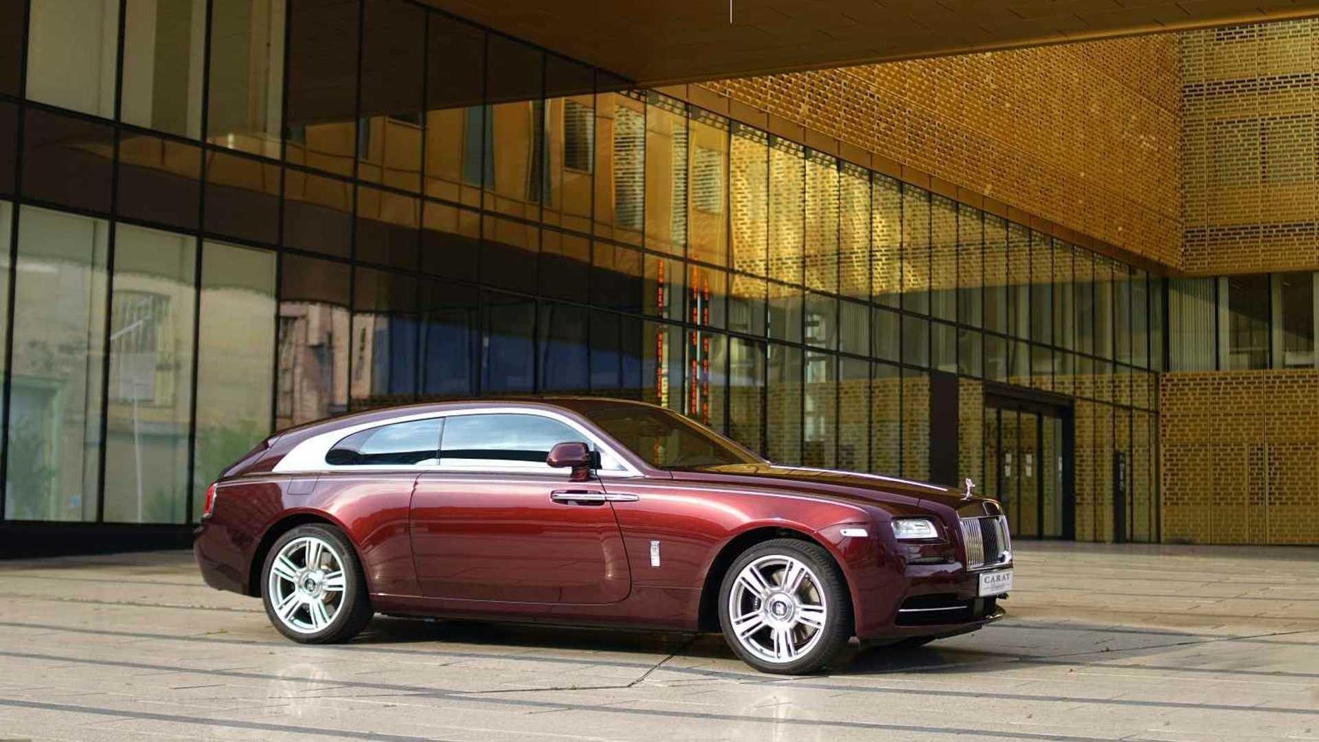 Тайна универсала Rolls-Royce раскрыта — мелкосерийный проект от бельгийцев