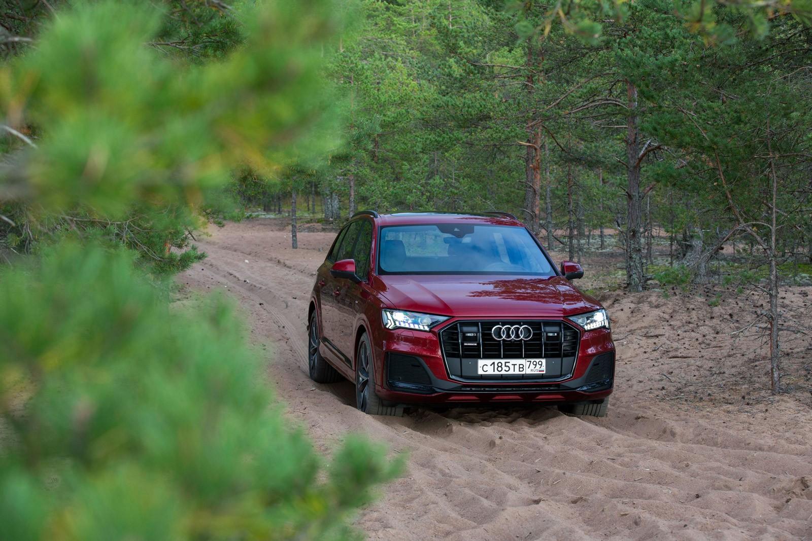 Новый Audi Q7.  Роскошь быть искушенным