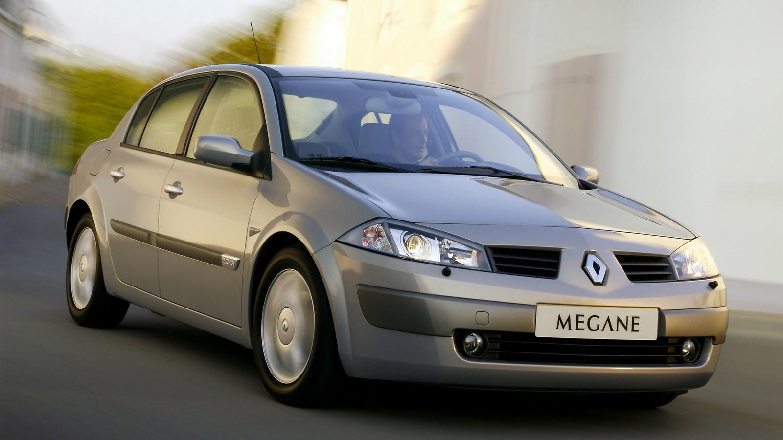 На фото: Renault Megane '2003–2006