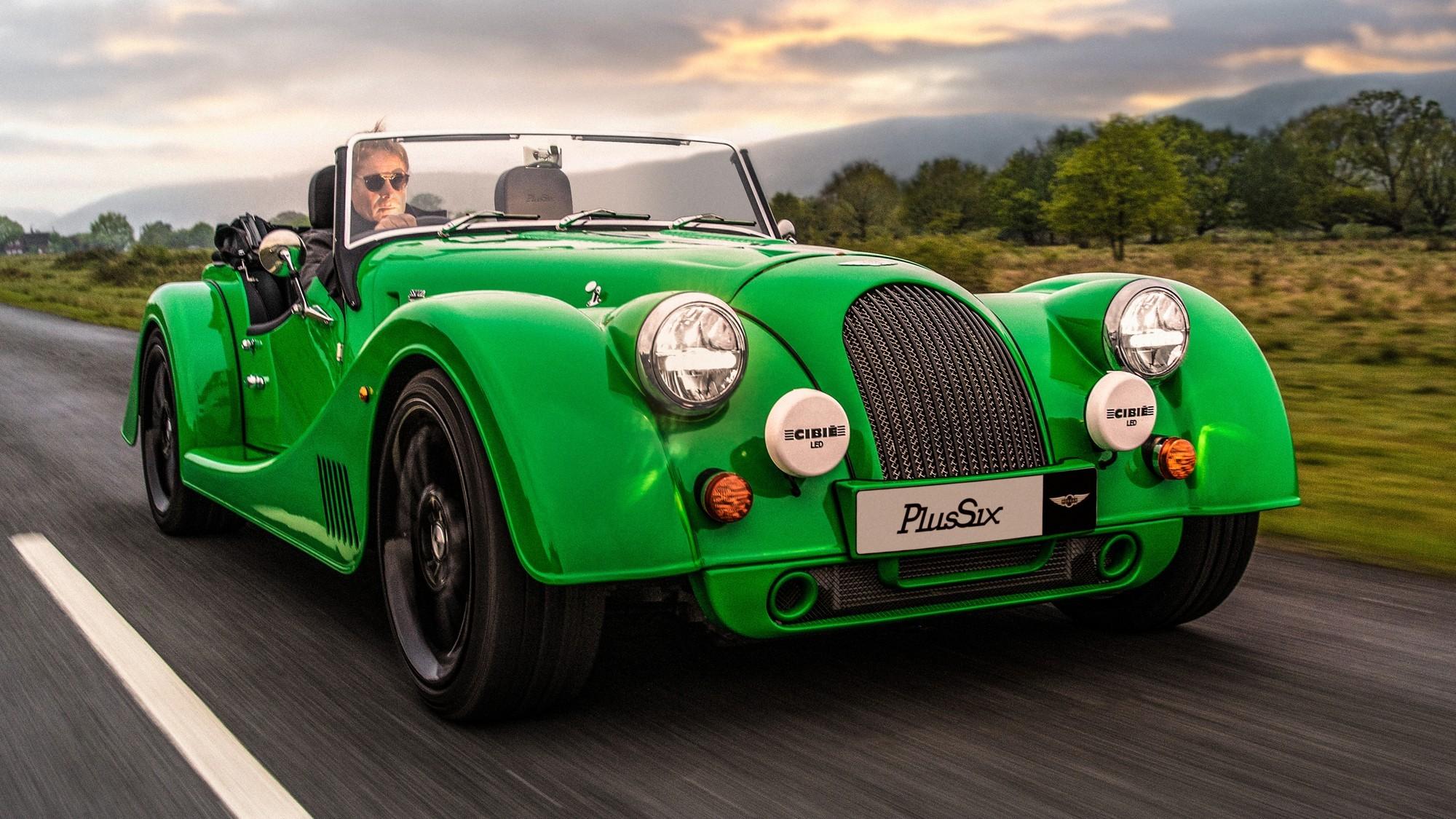 Обновлённые Morgan Plus Four и Plus Six: больше комфорта и неистовый рёв мотора