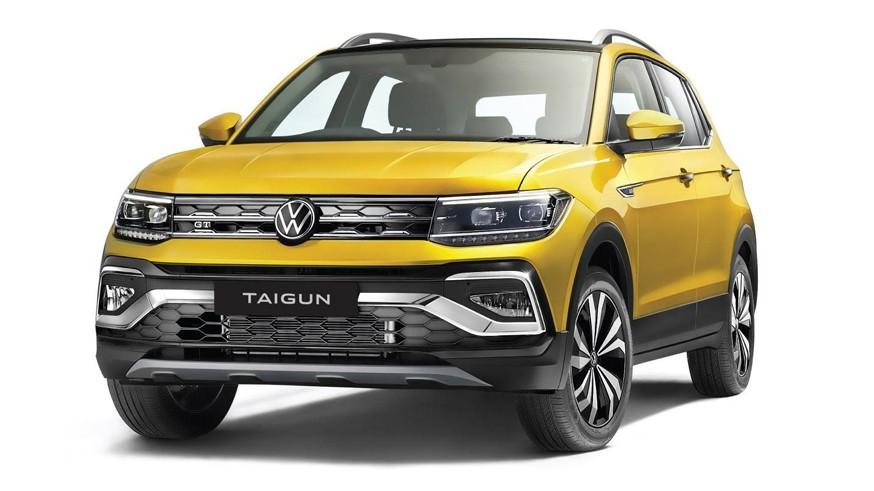 Volkswagen показал товарный Taigun: отличить от предсерийной версии можно только по колёсам