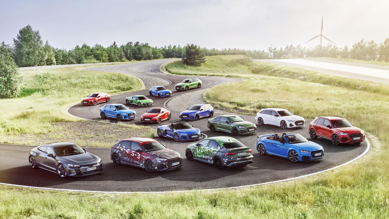 Audi засветила новый RS3: модель сохранит верность 5-цилиндровому турбомотору