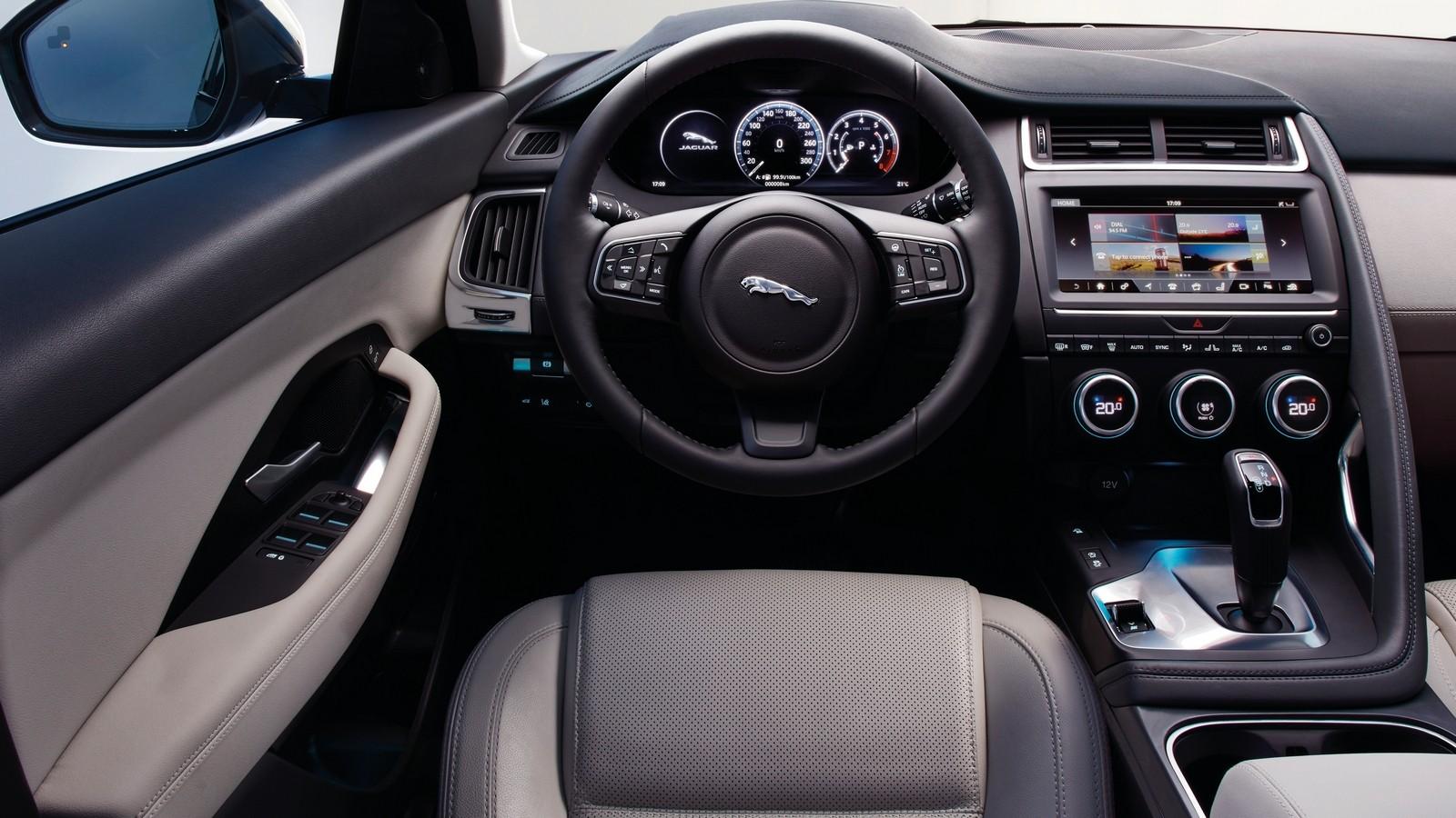 Торпедо Jaguar E-Pace Worldwide '2017–н.в.
