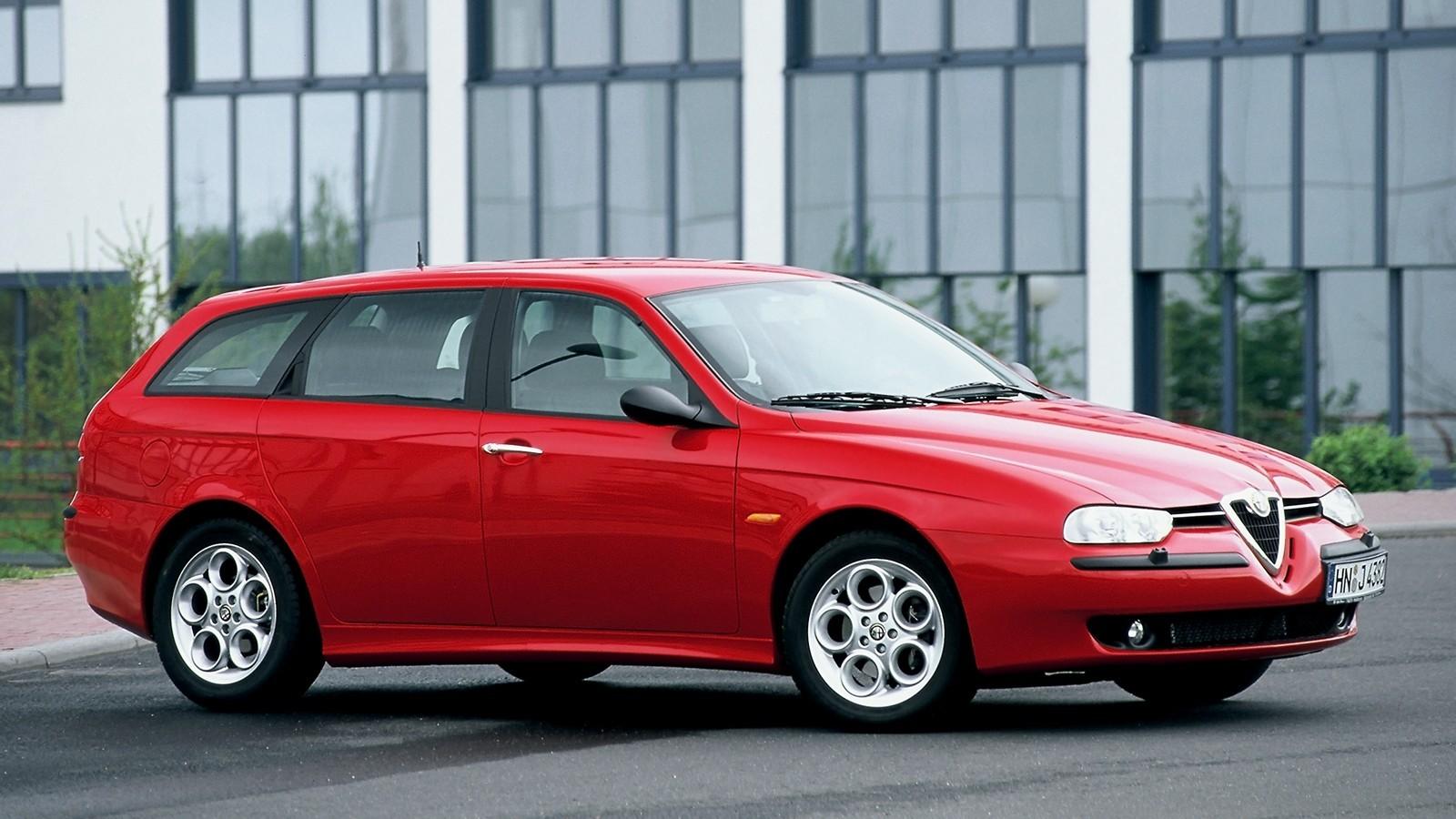 Alfa Romeo 156 Sportwagon '2000–2002