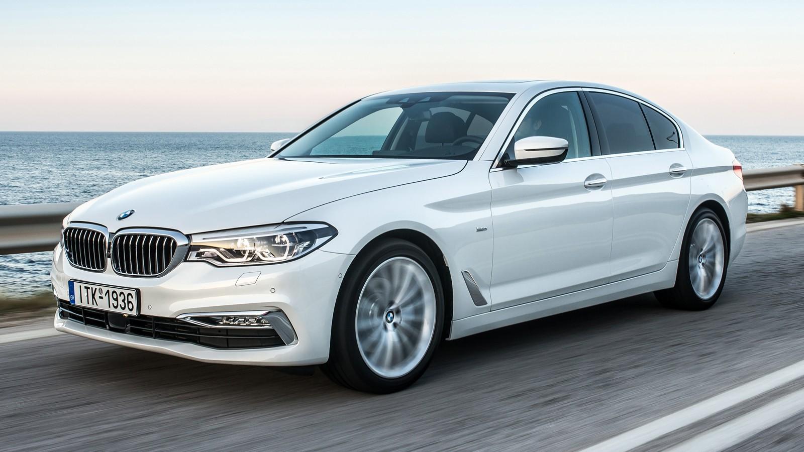 На фото: BMW 5 series
