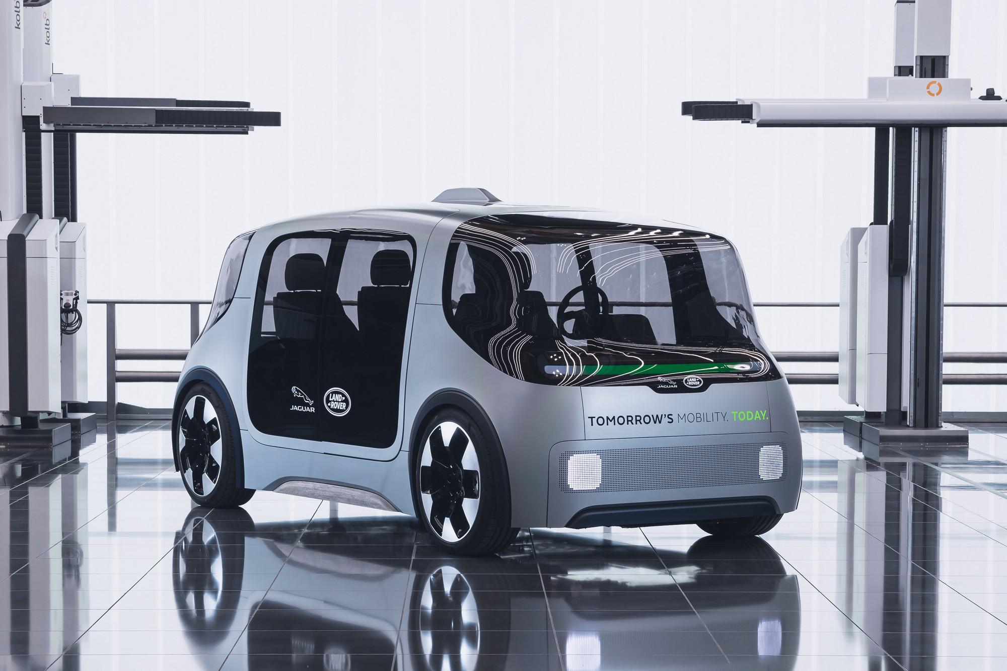 Vector перемен Jaguar Land Rover представила электрический однообъёмник