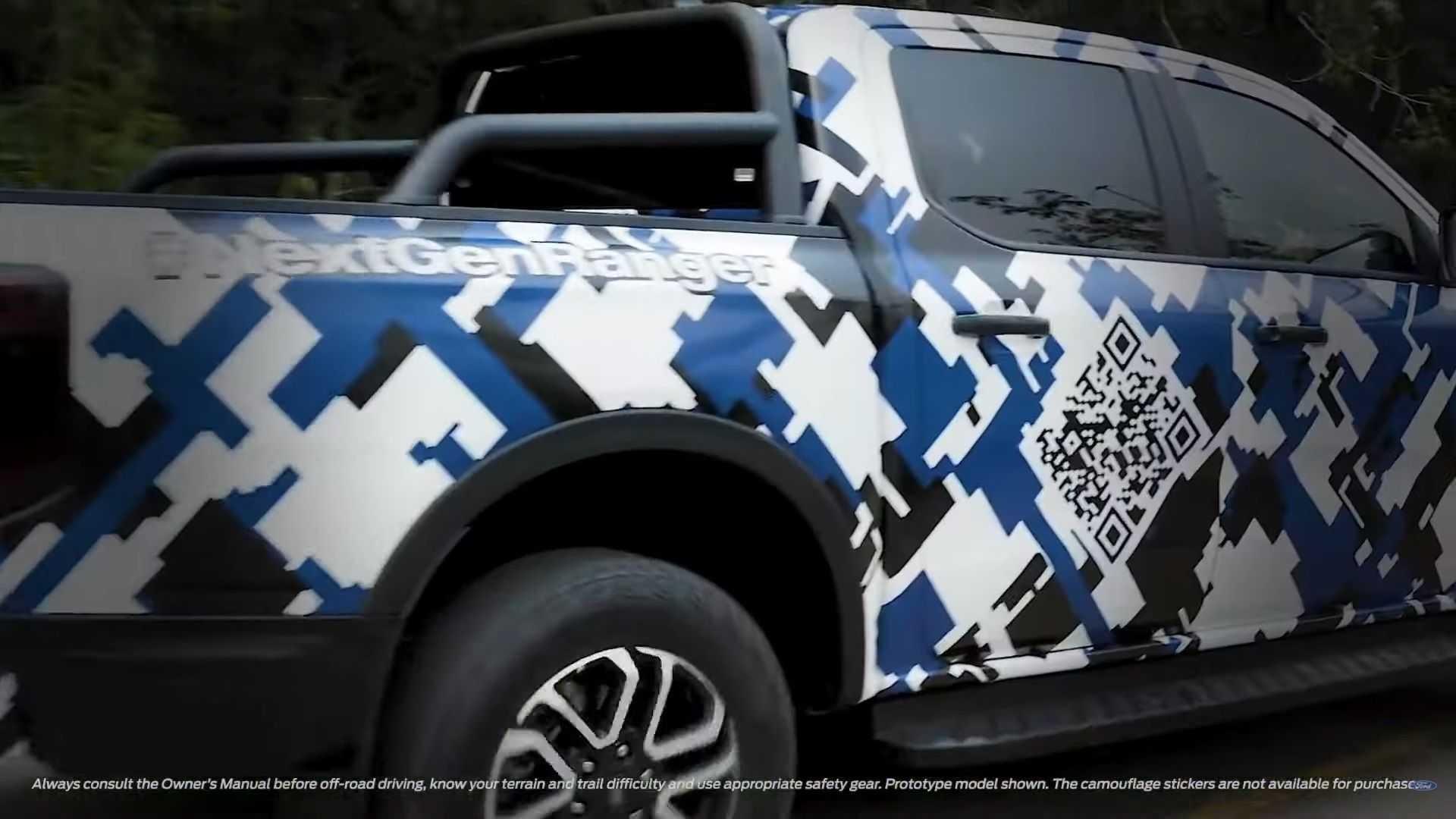 Новый Ford Ranger готовится к дебюту и сбрасывает камуфляж: очередной видео-тизер
