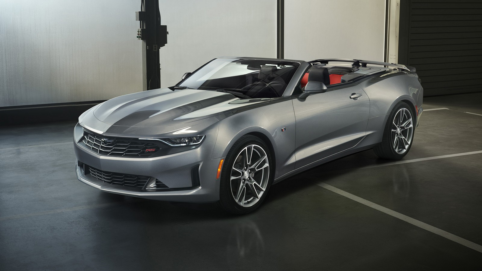 2019 Camaro RS' new front-end styling, including the fascia, g