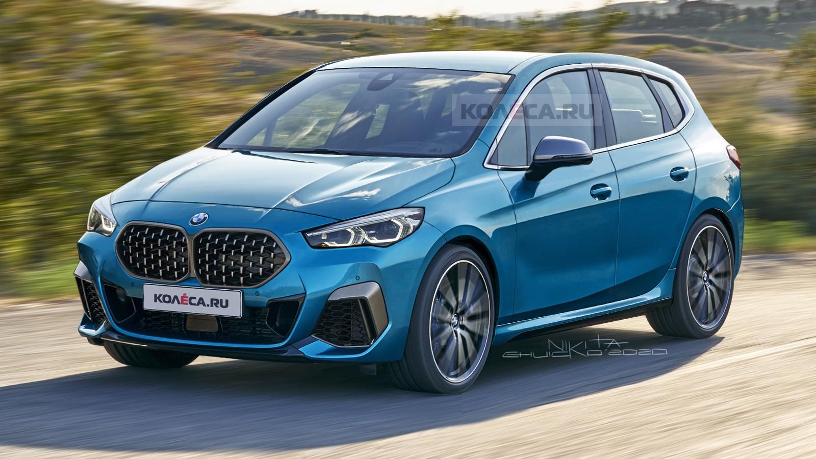Новый компактвэн BMW 2 серии Active Tourer: первые изображения