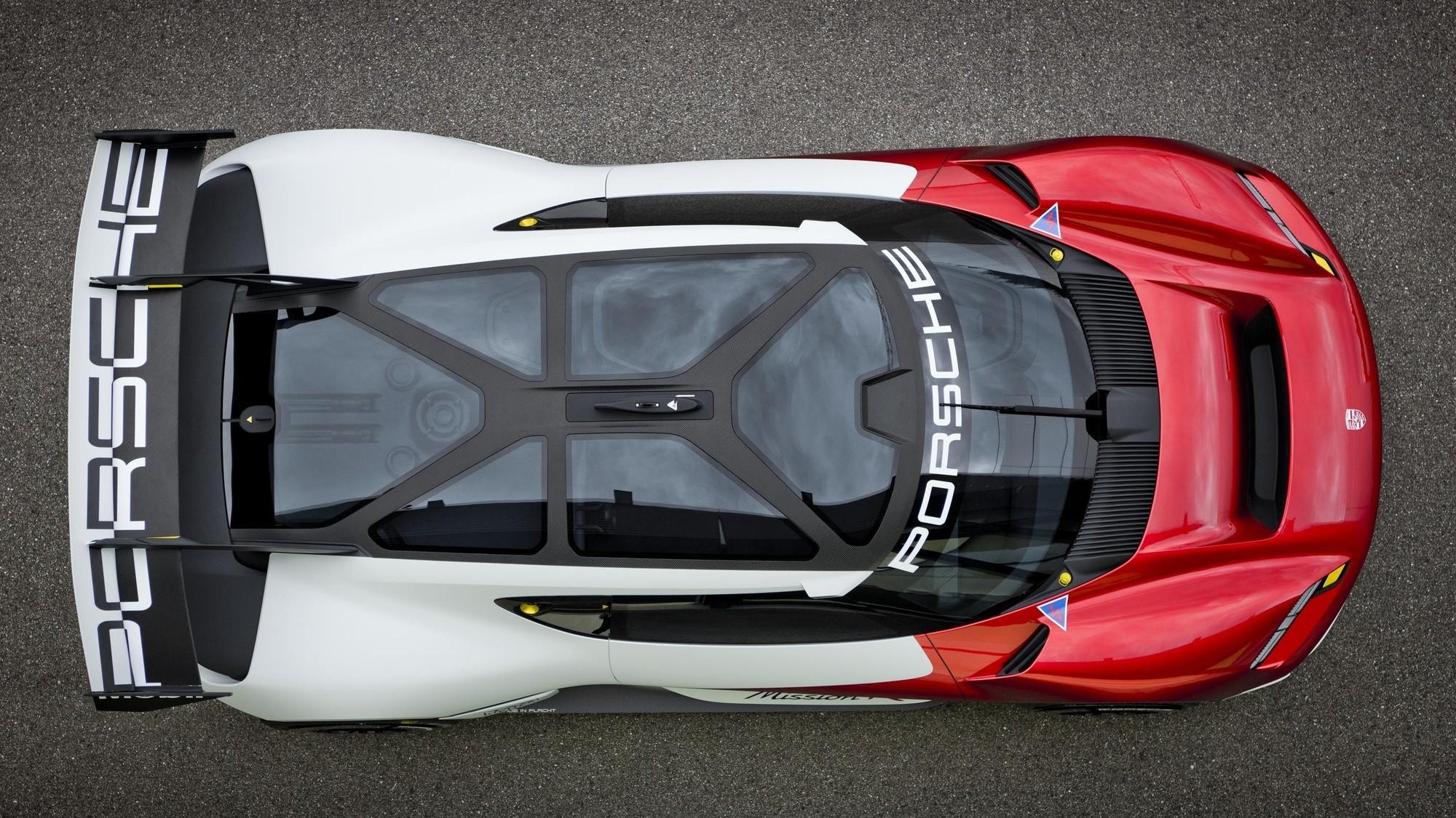 Porsche Mission R: электромобиль для гонок и, возможно, заготовка для преемника Cayman