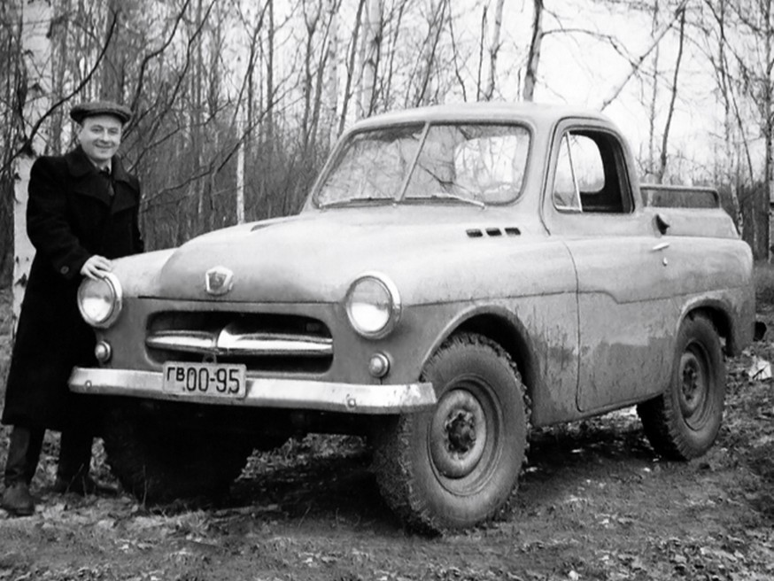 Г.М. Вассерман и ГАЗ-М73