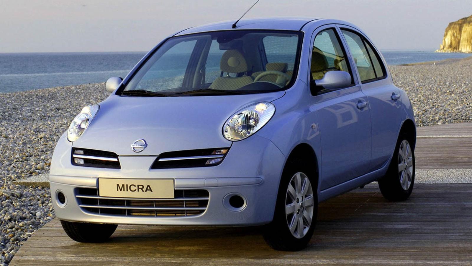 Nissan Micra (K12) '2003–10