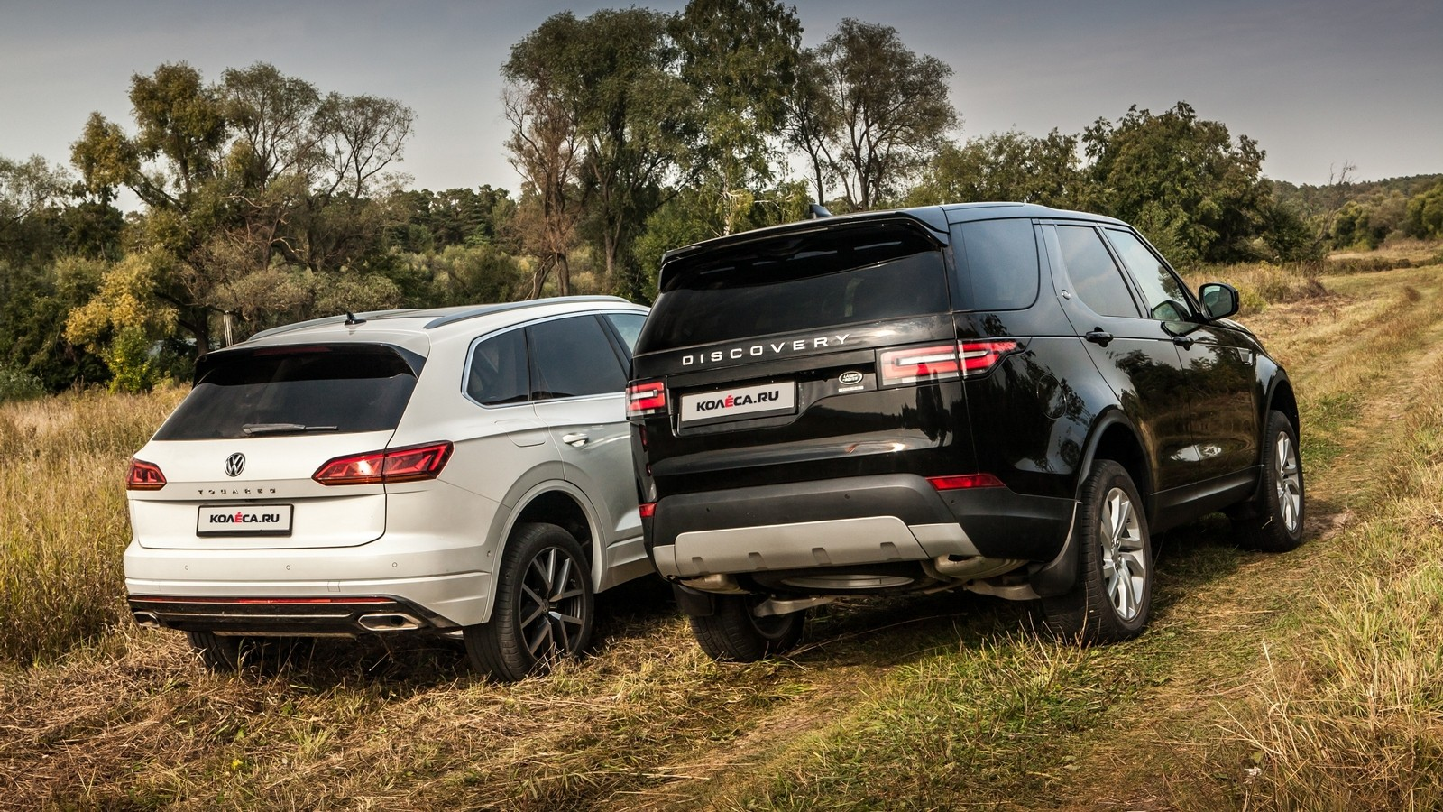 Volkswagen Touareg Land Rover Discovery (2)
