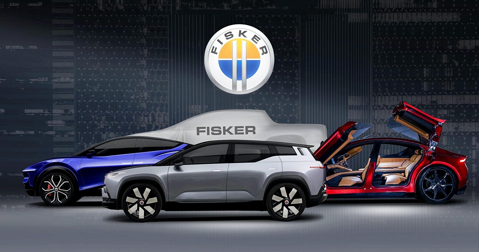 Fisker анонсировал три новинки (кросс-купе, седан, пикап) и партнёрство с VW