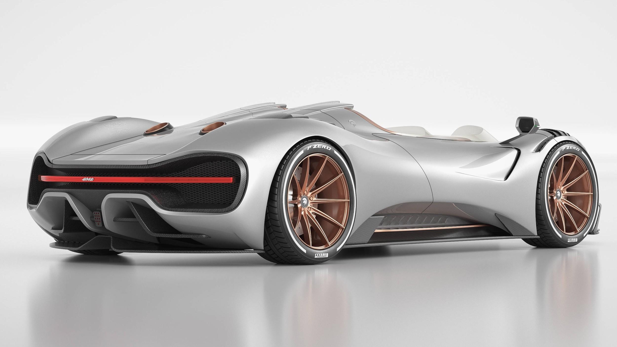 Ares S1 Project Spyder: роскошный «итальянец» с «потрохами» Corvette открылся по полной