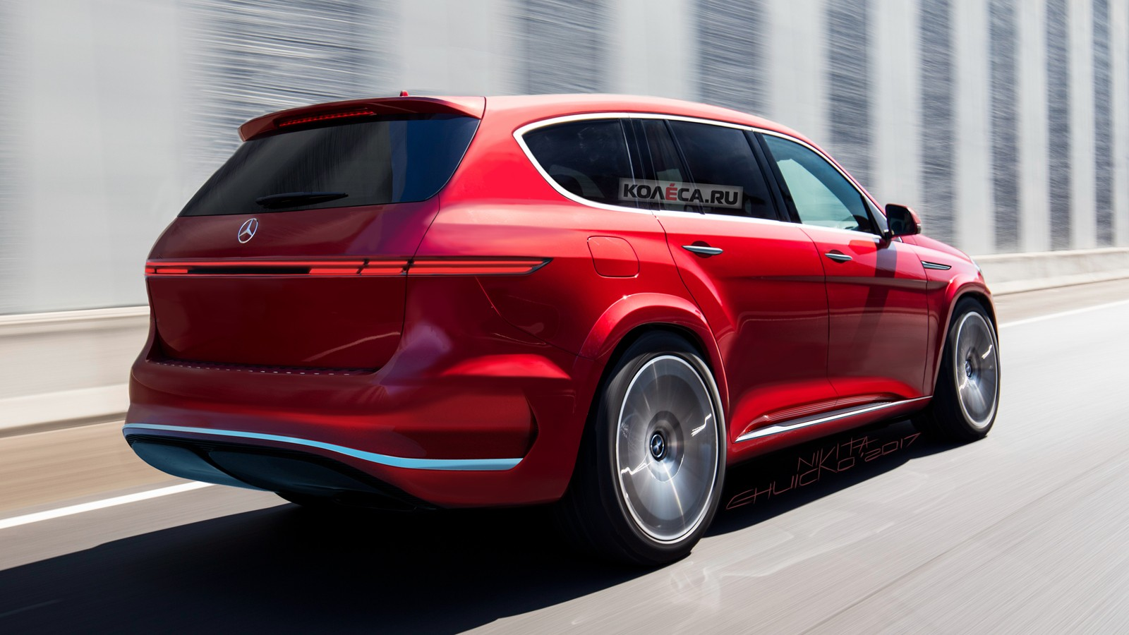 Maybach SUV rear