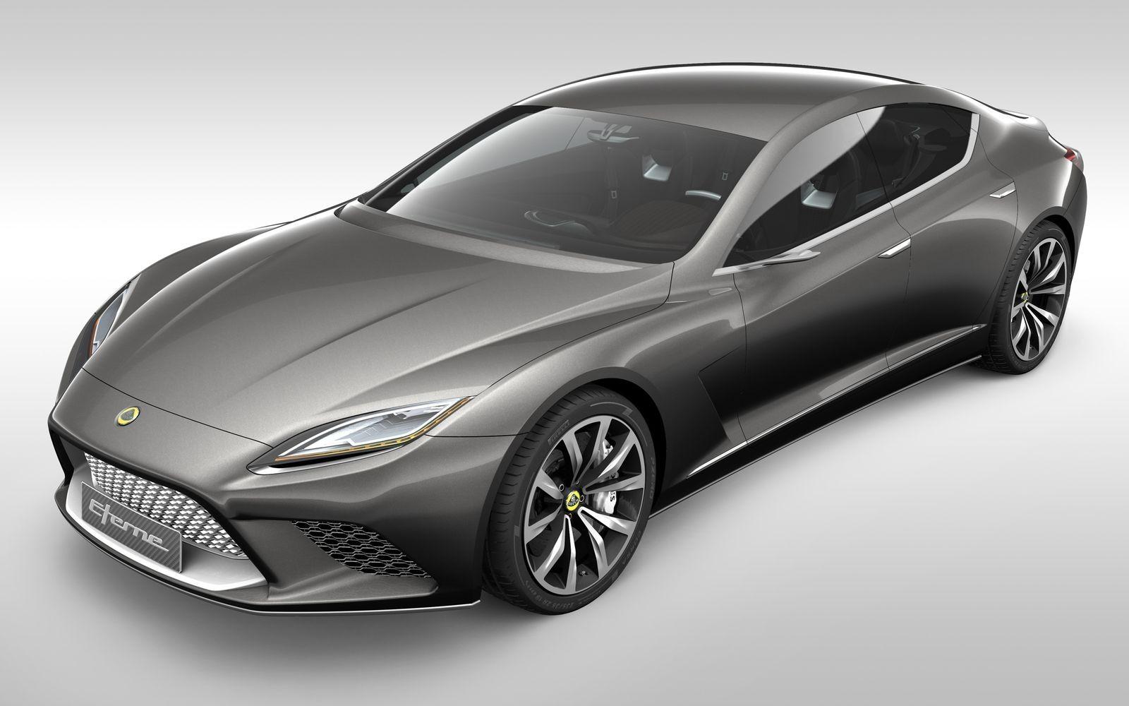 Lotus Eterne – один из пяти концептов образца 2010 года, который так и не стал серийной моделью.