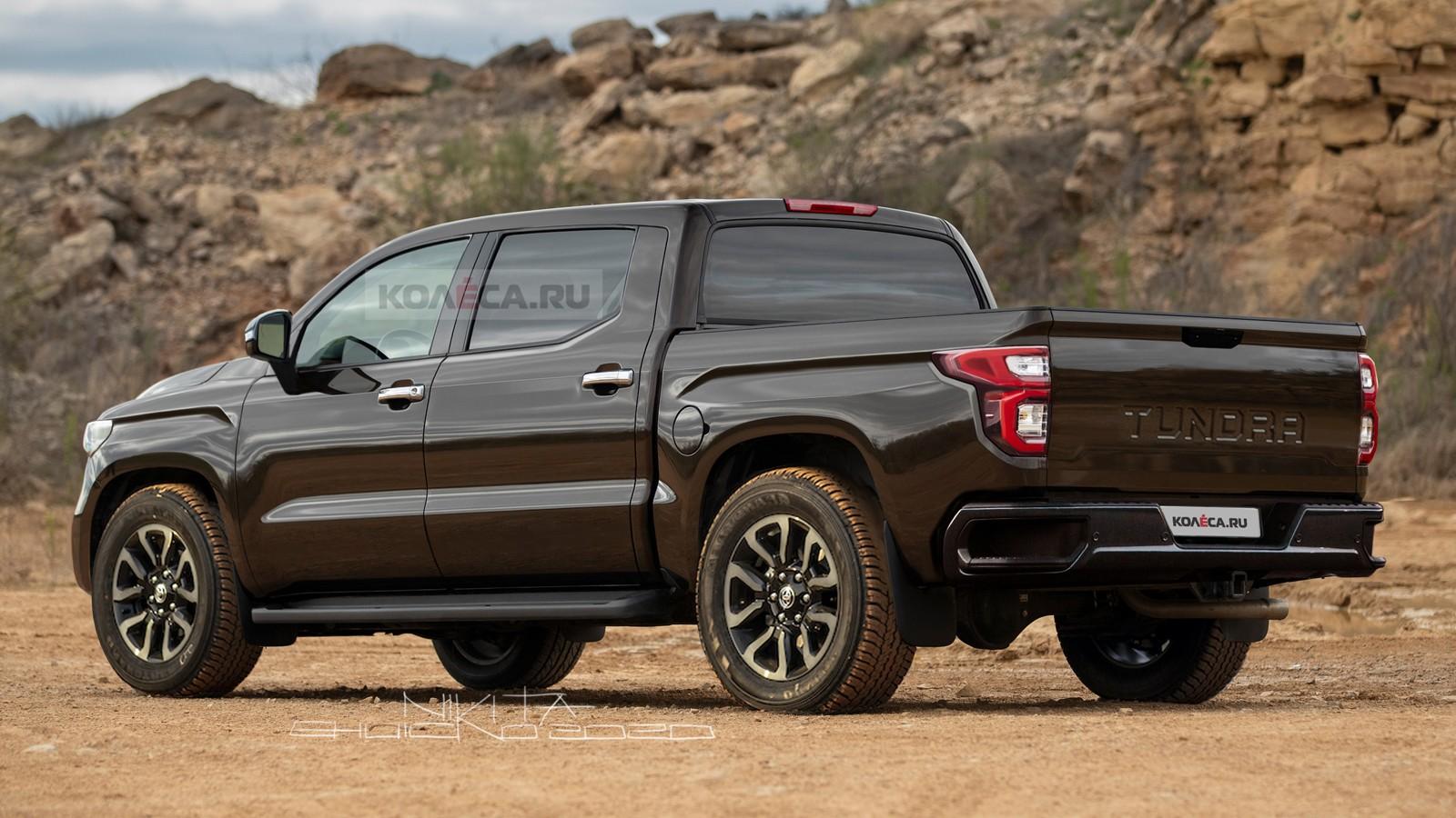 Новая Toyota Tundra: какой она может быть