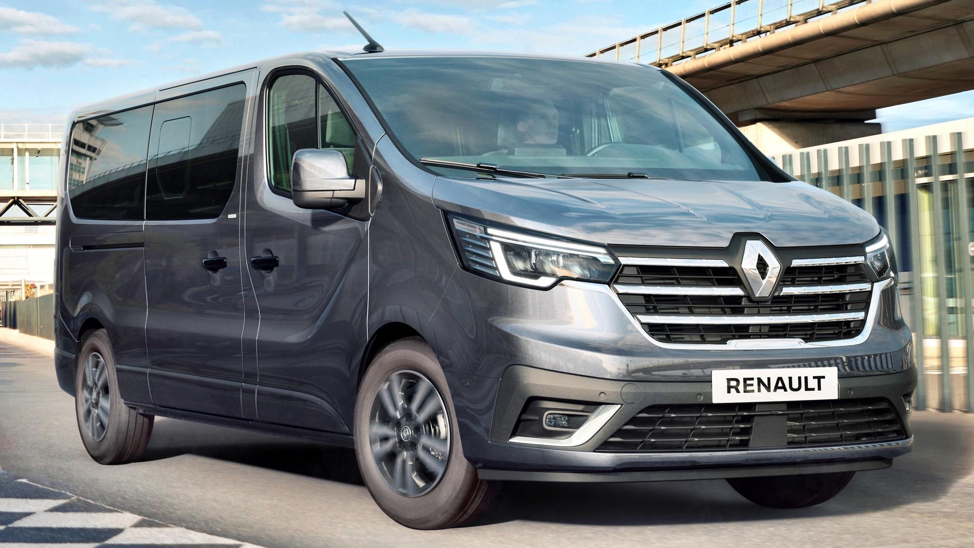 Обновлённый Renault Trafic: больше электронных помощников и салон в немецком стиле
