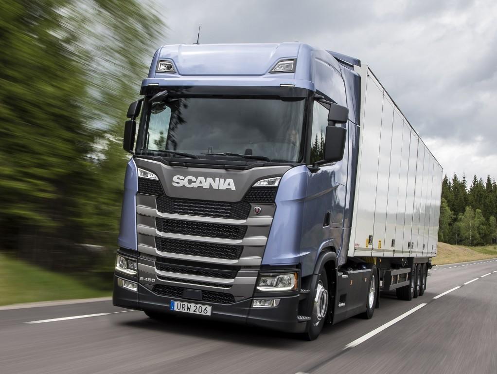 На фото: Scania S450