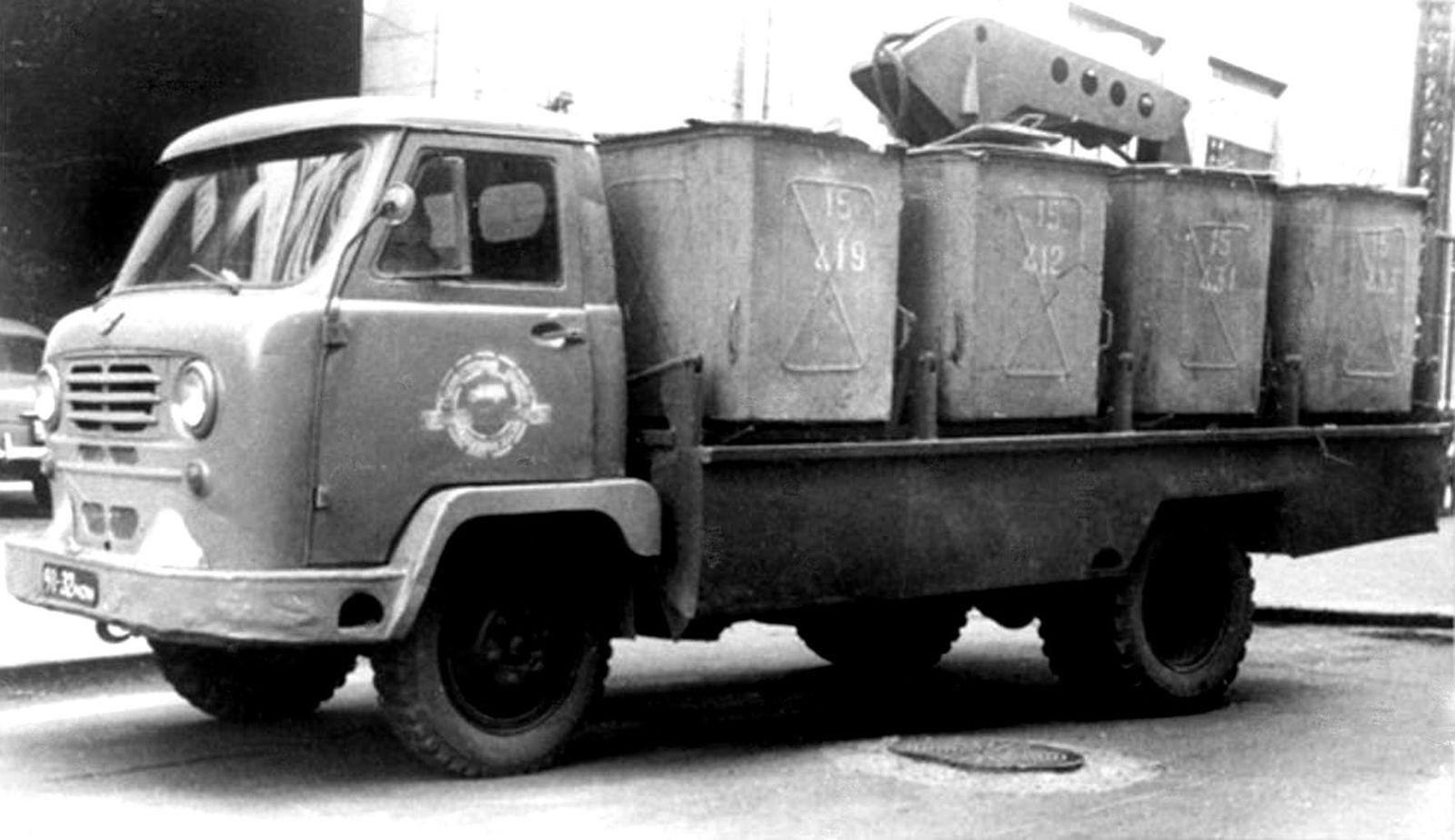 Те, что грохочут по утрам: история советских мусоровозов